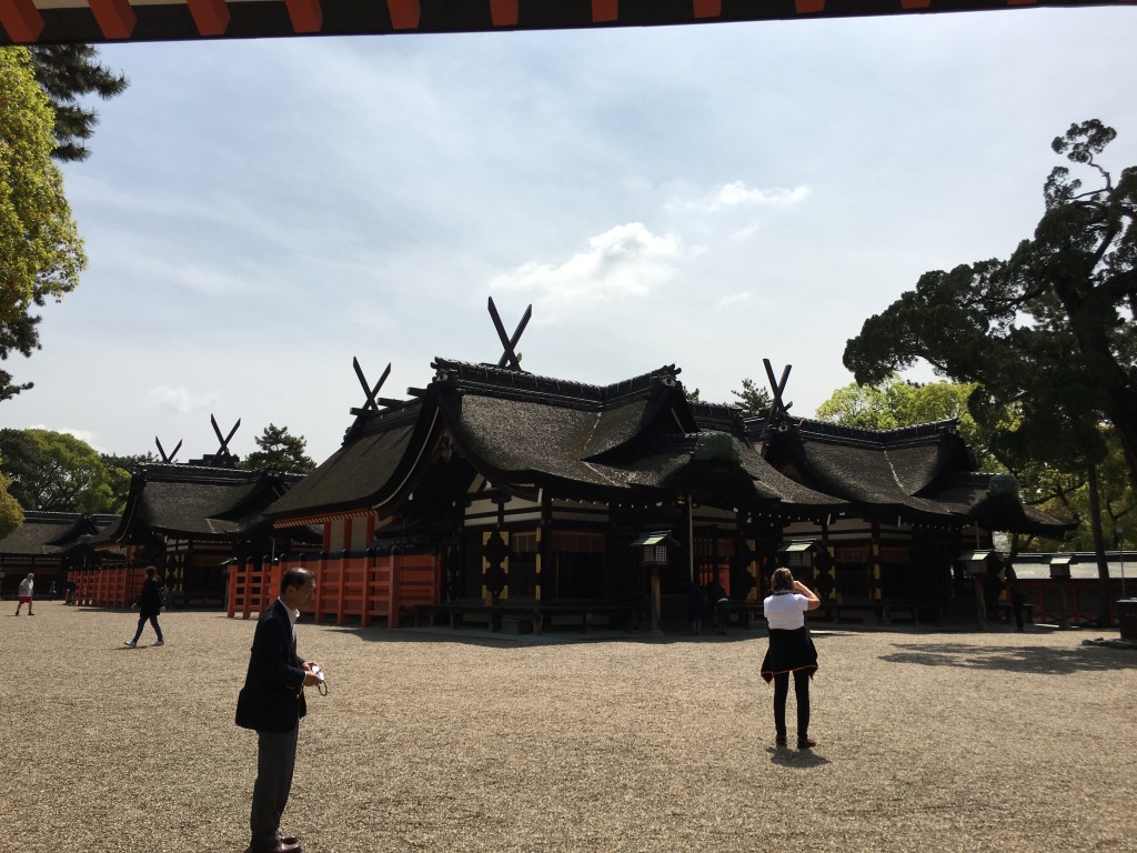 阪堺電車と住吉大社の魅力