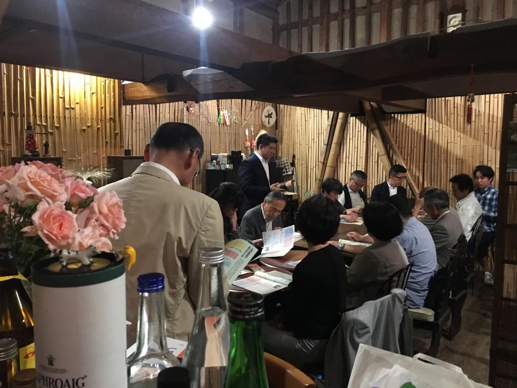 奈良市長がならまちを語る 奈良町座サロン ゲストスピーカーは仲川げん奈良市長
