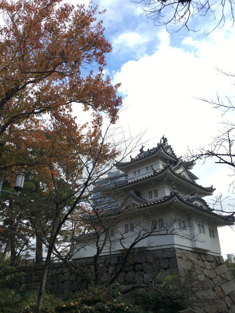 三重県の観光スポット津城跡と高山神社を訪ねました