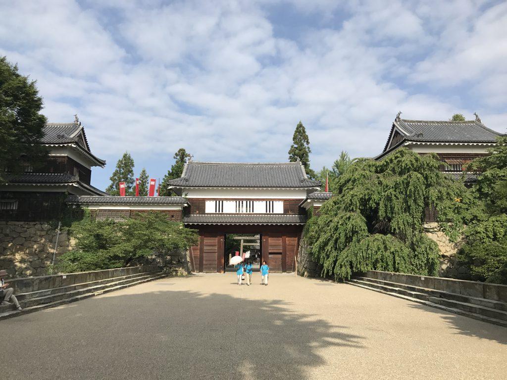 上田城の真田神社に御朱印とご利益をいただきにいきました