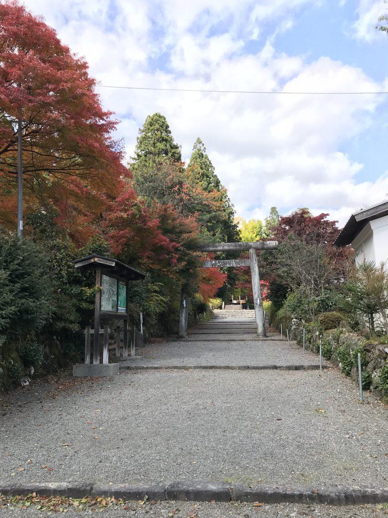長滝白山神社と白山長龍寺に参拝し御朱印をいただきました