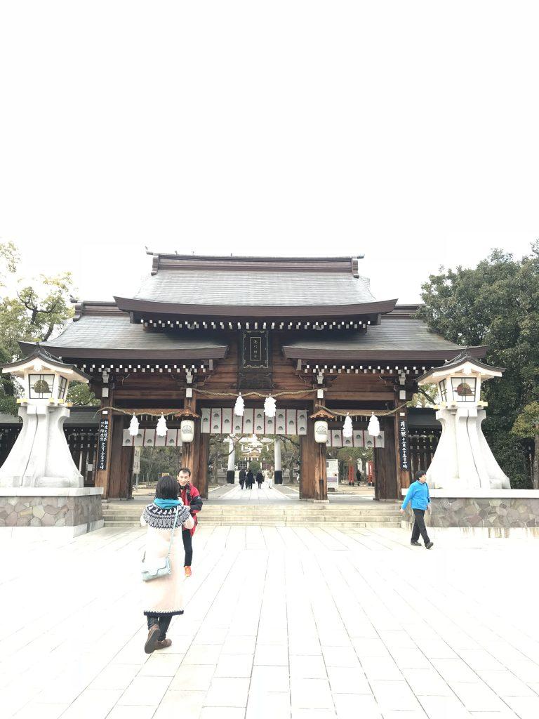 湊川神社の神様大楠公と御朱印とご利益・アクセスについて