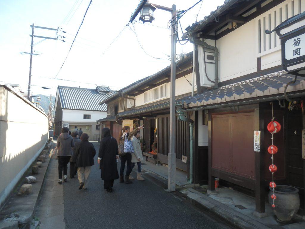 奈良町情報館はならまちの名所やお店紹介を行う観光案内所