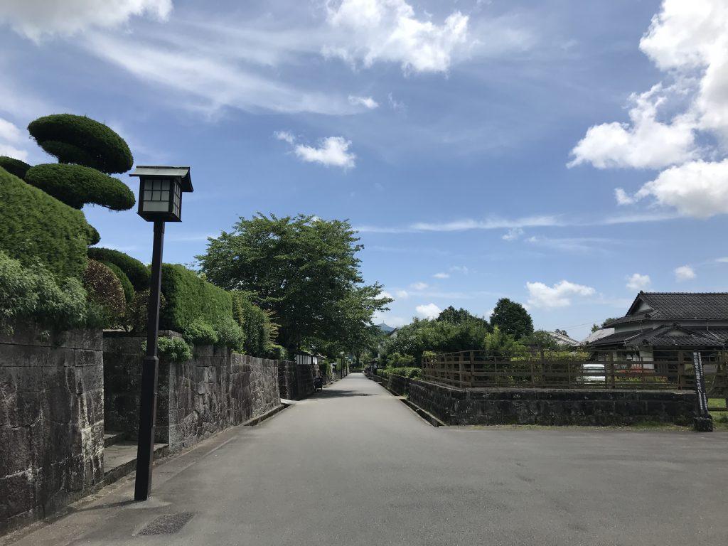 飫肥城の美しい石垣と緩やかな時間が流れる飫肥城下町