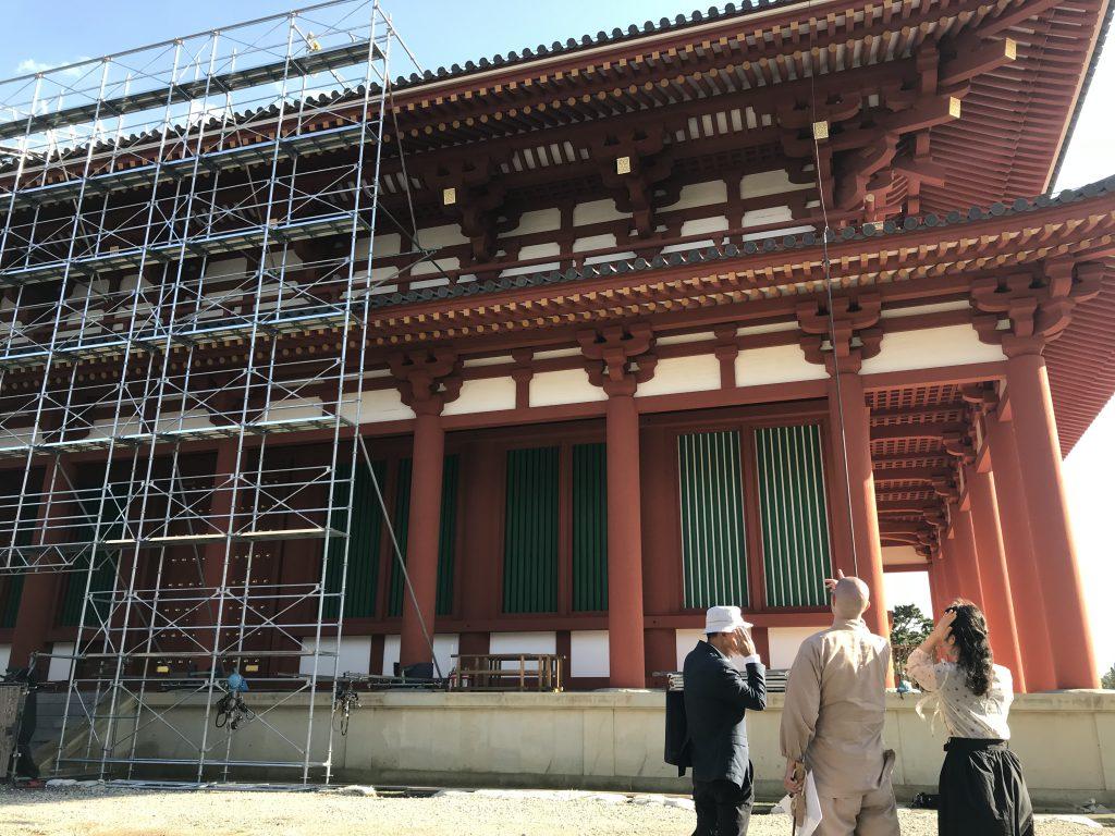 興福寺中金堂落慶慶讃茶会備忘録・・10月1日から6日まで